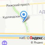 Городской центр оценки на карте Санкт-Петербурга