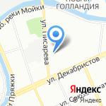 PROGRES на карте Санкт-Петербурга