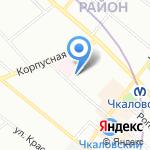 Росинка на карте Санкт-Петербурга