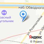 Гофроман на карте Санкт-Петербурга