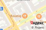 Схема проезда до компании Medall в Санкт-Петербурге