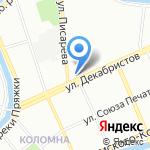 Ам-бар на карте Санкт-Петербурга