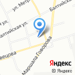 Петровский колледж на карте Санкт-Петербурга