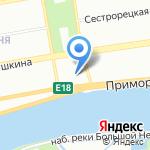 Следственный отдел по Приморскому району на карте Санкт-Петербурга