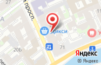 Схема проезда до компании Натали в Санкт-Петербурге