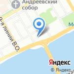 АРТ-Банк на карте Санкт-Петербурга