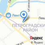 Shine на карте Санкт-Петербурга