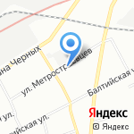 Си Проект на карте Санкт-Петербурга