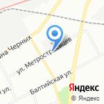 Банк ВТБ на карте Санкт-Петербурга