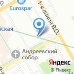 Клуб Путешественников НАВИ на карте Санкт-Петербурга