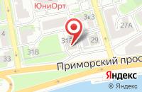 Схема проезда до компании Русские Технологии - Санкт-Петербург в Санкт-Петербурге