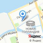 Театр-студия СПбГУ на карте Санкт-Петербурга
