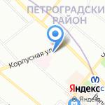 Аркада на карте Санкт-Петербурга