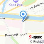Городской гериатрический медико-социальный центр на карте Санкт-Петербурга