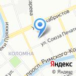СТАФ-АЛЬЯНС на карте Санкт-Петербурга
