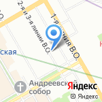 Паладин Инновации на карте Санкт-Петербурга