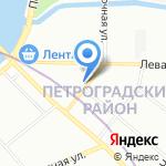 Запили на карте Санкт-Петербурга