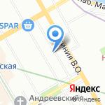 Пан-Медиа на карте Санкт-Петербурга