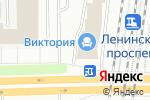 Схема проезда до компании ПензаМебель в Санкт-Петербурге