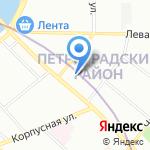 Конферент на карте Санкт-Петербурга