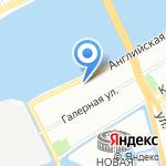 Фольклорно-этнографический центр Санкт-Петербургской государственной консерватории на карте Санкт-Петербурга