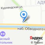 Центр Судебно-Экспертных Исследований на карте Санкт-Петербурга