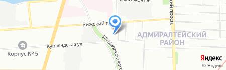 Приборы-СПб на карте Санкт-Петербурга