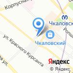 Автошкола А24 на карте Санкт-Петербурга