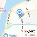 Mnogomart на карте Санкт-Петербурга