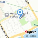 Арт-Клуб на карте Санкт-Петербурга