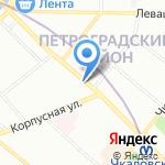 Полис Инвест Север на карте Санкт-Петербурга
