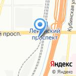 Union на карте Санкт-Петербурга