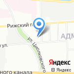 ПРИБОРЫ на карте Санкт-Петербурга