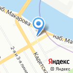 Фотостудия Валерия Левыкина на карте Санкт-Петербурга