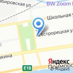 Светланин Дом на карте Санкт-Петербурга