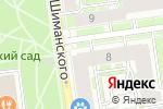 Схема проезда до компании Помощь в Санкт-Петербурге