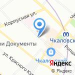 Автомастерская на карте Санкт-Петербурга