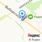 Фрайд на карте Санкт-Петербурга