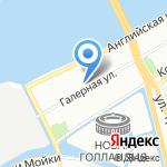 Управление Федеральной службы по ветеринарному и фитосанитарному надзору по г. Санкт-Петербургу и Ленинградской области на карте Санкт-Петербурга