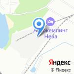 АБЗ-1 на карте Санкт-Петербурга