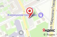 Схема проезда до компании Центр-Сервис в Санкт-Петербурге