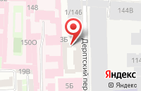 Схема проезда до компании Волоконно-Оптические Компоненты в Санкт-Петербурге