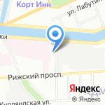 Элан+ на карте Санкт-Петербурга