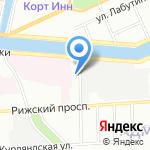 СКАН на карте Санкт-Петербурга