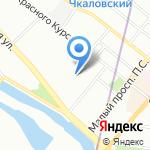 Гуманитарное действие на карте Санкт-Петербурга