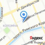 Ухти-Тухти на карте Санкт-Петербурга