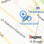 Сеньор Помидор на карте Санкт-Петербурга