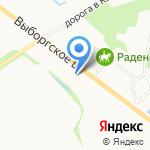 Группа Компаний Мортира на карте Санкт-Петербурга