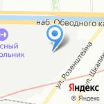 НПО СПЕКТРУМ на карте Санкт-Петербурга