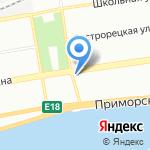 Ракурс на карте Санкт-Петербурга